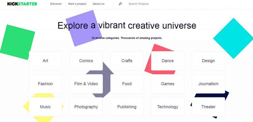 kickstarter - post online influnce
