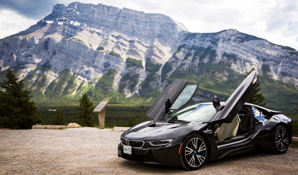 BMW i8 test drive. Photo: Ryan Lash / TED